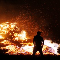 Fiscalía de O'Higgins consigue detención de 6 personas por incendio en comuna de Navidad