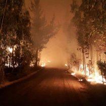 [VIDEO] La noche de terror que vivieron los vecinos de Matanzas, Pupuya y Navidad por culpa de los incendios forestales
