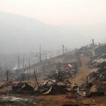 Nuevo balance Onemi: 6162 damnificados por incendios