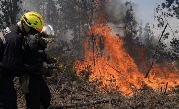 Empresa eléctrica CGE en la mira de la Fiscalía por origen de incendio en Pumanque