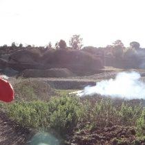 Detienen a dos personas por quemas ilegales en Chiloé
