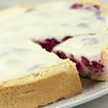 [VIDEO VIDA] Receta Fácil: te enseñamos a preparar un sabroso kuchen de frambuesa