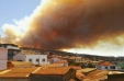 [VIDEO] Incendio sin control consume sector de Laguna Verde