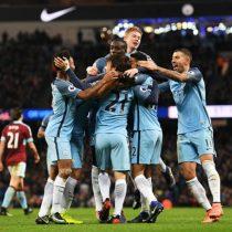[VIDEO] Manchester City se repone a la expulsión de Fernandinho y gana con apuros al Burnley
