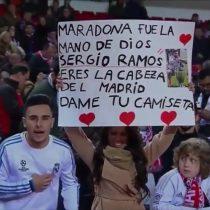 [VIDEO] El gesto de Sergio Ramos que emocionó a una hincha del Real Madrid