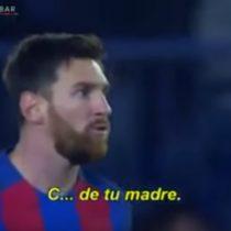 [VIDEO] La violenta respuesta de Lionel Messi a Mateo Musacchio