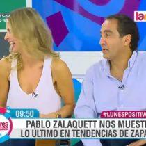 [VIDEO] Pablo Zalaquett se re inventa a lo Al Bundy como especialista en zapatos