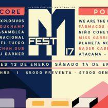 Mfest 2017, lo mejor del hardcore y el pop en Matucana 100