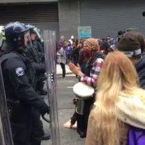 [VIDEO] 90 personas detenidas en nuevas protestas en Washington contra la investidura de Trump