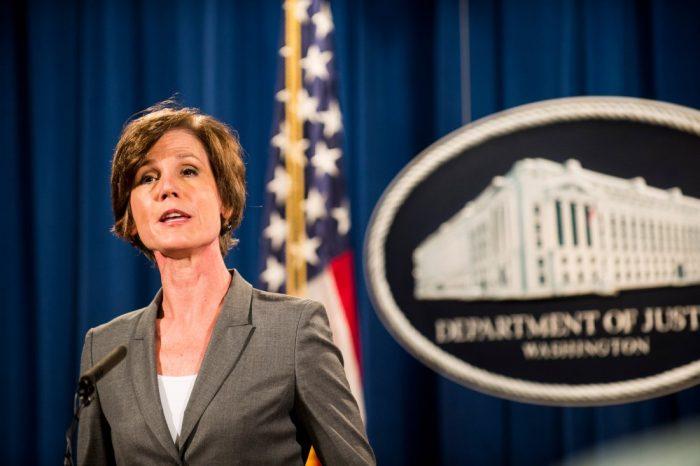 Trump despide a la fiscal general de EE.UU. por desafiar sus órdenes