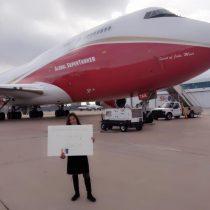 Lucy Avilés, la chilena que donó el Supertanker, acusa maltrato de la prensa
