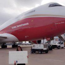Hermano de Lucy Avilés relaciona la donación de la aeronave con temas de política contingente