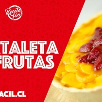 [VIDEO VIDA] Receta Fácil: te enseñamos a preparar una rica y veraniega tartaleta de frutas