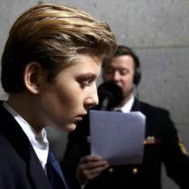 El acoso a Barron Trump y las dificultades de los niños que crecen siendo hijos del presidente de Estados Unidos