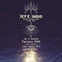 Dúo electrónico Jefe Indio presenta Live Set en Valparaíso