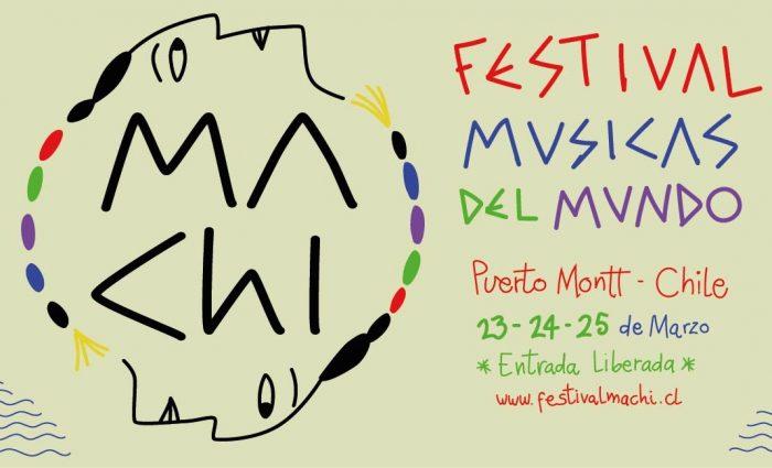 Se viene gratis el Festival Machi-Músicas del Mundo en Puerto Montt