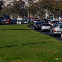 Santiago entre las 10 ciudades del mundo con peor tráfico en hora punta
