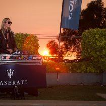 Sunset Maserati en Zapallar