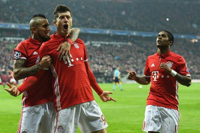 A pesar del gol de Alexis el Bayern pasa el rodillo y deja encarrilado su pase a cuartos