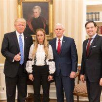 Donald Trump se reúne con esposa de Leopoldo López y pide su liberación