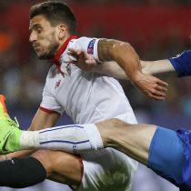 [VIDEO] Champions League: Sevilla se lleva una escasa renta para la vuelta de Leicester