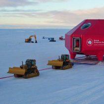 [VIDEO] Cuánto tiempo tardó en moverse una base científica para evitar que cayese en una grieta en la Antártica