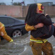 Estados Unidos: California azotada por la «bombogénesis», la tormenta más poderosa en años