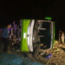Tragedia en Los Andes: al menos 15 muertos y varios heridos por accidente de un bus que viajaba de Argentina a Chile