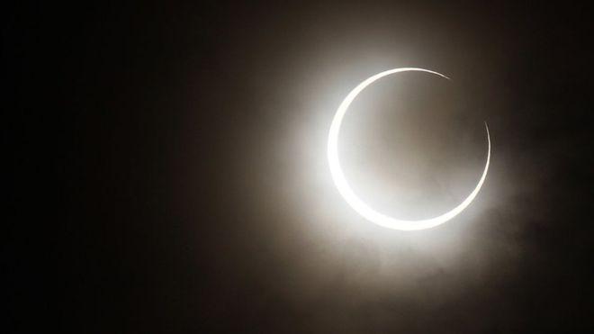 """Dónde y cómo ver en América Latina el """"anillo de fuego"""" del espectacular eclipse anular"""