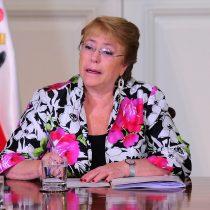 Bachelet golpea la mesa frente a cuestionamientos por designación de Blanco: