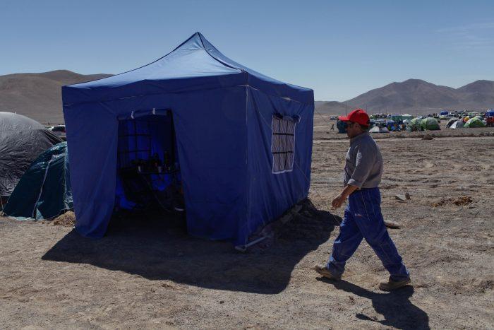 Crecen las tensiones en huelga de Minera Escondida durante el fin de semana