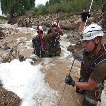 Tres muertos y 19 desaparecidos por aluviones en regiones centro y norte del país