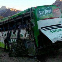 Accidente del Turbus: fiscal argentino dice que el auxiliar pidió al chofer bajar la velocidad y