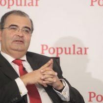 Jubilación digna: cuestionado ex presidente de Banco Popular en España se jubila con casi US$25 millones
