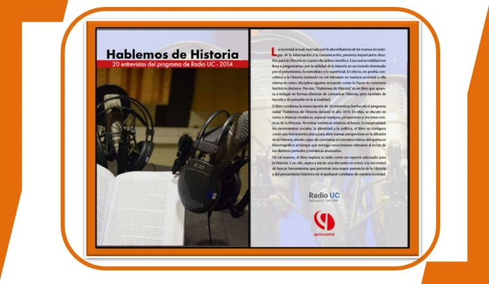 """Presentación del libro """"Hablemos de historia"""", basado en el programa radial homónimo"""