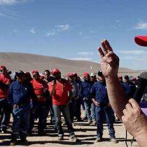 No pasarán, la advertencia de los huelguistas de Escondida a directivos de la minera