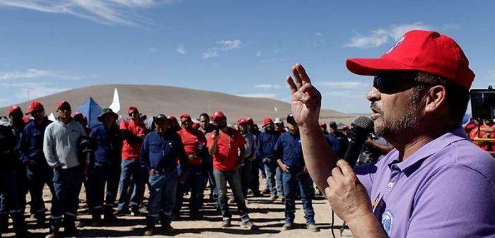 Presidente del sindicato de Escondida advierte que están preparados para una huelga de meses