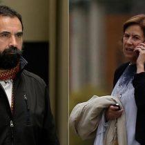Hugo Gutiérrez ningunea a Mariana Aylwin: