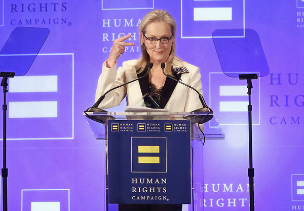 Meryl Streep contrataca a Donald Trump: «Sí, soy la actriz más sobrevalorada»