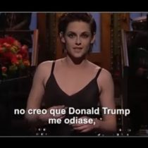 "Kristen Stewart dispara con gracia a Trump: ""¡Soy tan gay!"""