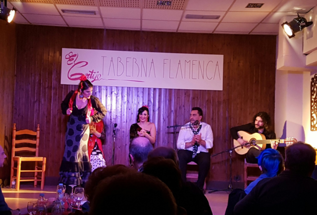Chilena crea «tablao» popular en Madrid para aficionados al flamenco