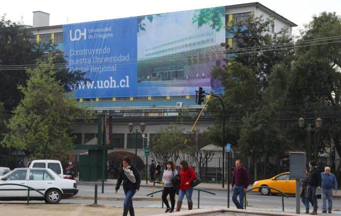Más de la mitad de los alumnos de las universidades de O'Higgins y Aysén estudiará gratis