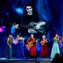Homenaje femenino a Violeta Parra se inspiró también en las heroínas del incendio