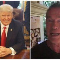 [VIDEO] Arnold Schwarzenegger le manda un mensaje a Donald Trump: