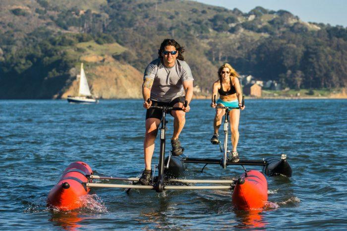 Ciclimso acuático: el nuevo deporte que está conquistando el mundo