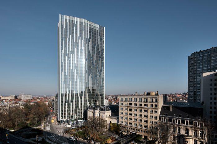 Bruselas inaugura el rascacielos