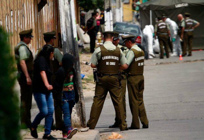 Carabinero recibe disparo en el rostro en población Legua Emergencia
