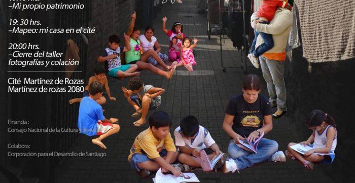 Taller patrimonial para niños en Cité Martinez de Rozas