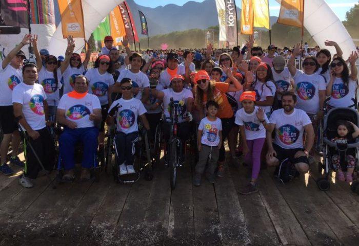 Realizan corrida inclusiva en Pucón