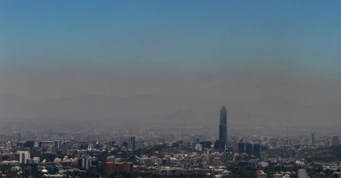 Informe Estado Global del Aire 2017 revela que muertes por contaminación en Chile llegaron a 5.900 en 2015